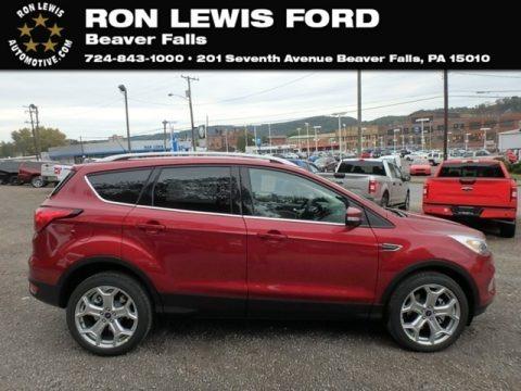 Ruby Red 2019 Ford Escape Titanium 4WD