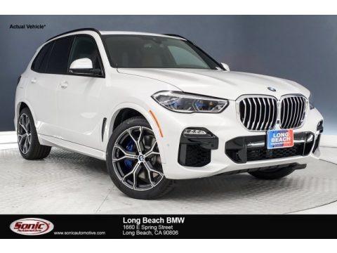 Mineral White Metallic 2019 BMW X5 xDrive40i