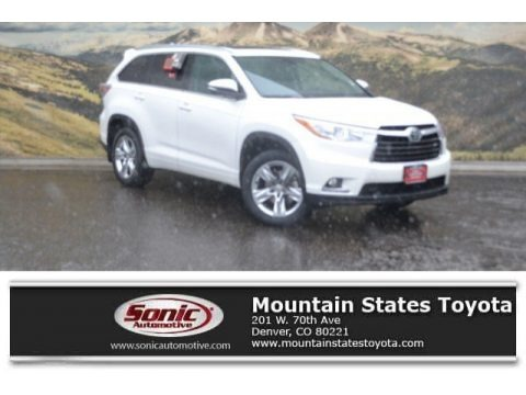 Blizzard Pearl White 2015 Toyota Highlander Limited AWD