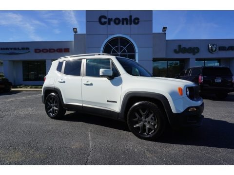 Alpine White 2018 Jeep Renegade Latitude