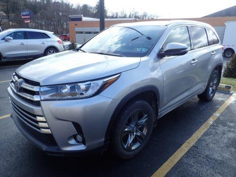 Celestial Silver Metallic 2017 Toyota Highlander Limited AWD