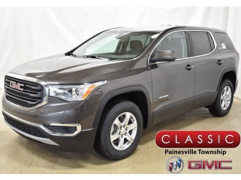 Smokey Quartz Metallic 2019 GMC Acadia SLE