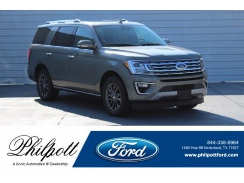 Silver Spruce Metallic 2019 Ford Expedition Limited