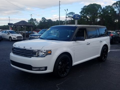 Oxford White 2019 Ford Flex SEL