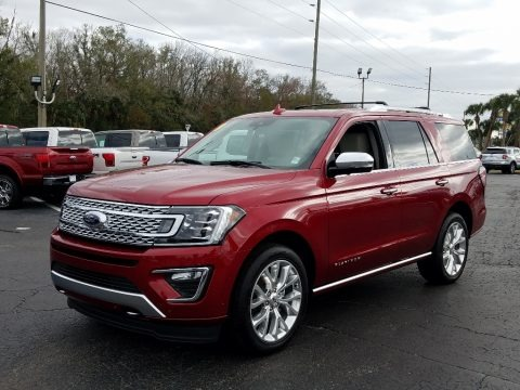 Ruby Red Metallic 2019 Ford Expedition Platinum 4x4