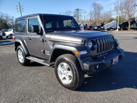 Granite Crystal Metallic 2019 Jeep Wrangler Sport 4x4