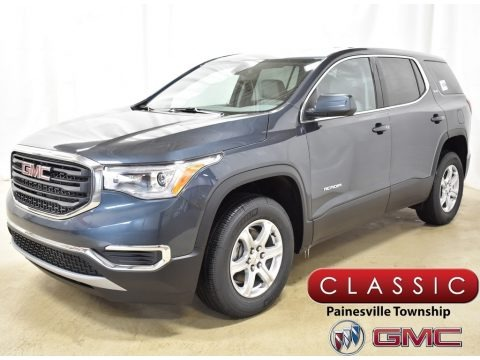 Dark Sky Metallic 2019 GMC Acadia SLE AWD