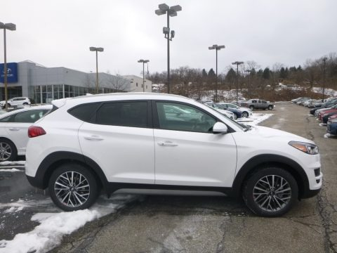 White Pearl 2019 Hyundai Tucson SEL AWD