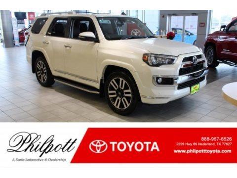 Blizzard White Pearl 2019 Toyota 4Runner Limited