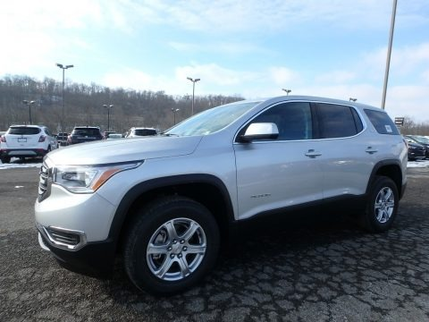 Quicksilver Metallic 2019 GMC Acadia SLE AWD