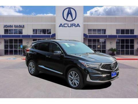 Majestic Black Pearl 2019 Acura RDX Technology AWD