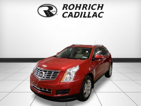 Crystal Red Tintcoat 2015 Cadillac SRX Luxury AWD