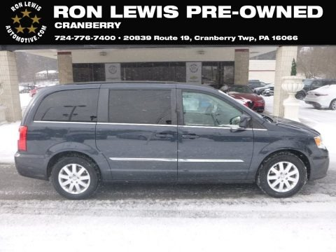 True Blue Pearl 2014 Chrysler Town & Country Touring