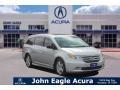 Honda Odyssey Touring Alabaster Silver Metallic photo #1