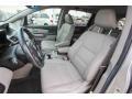 Honda Odyssey Touring Alabaster Silver Metallic photo #17