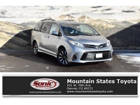 Celestial Silver Metallic 2019 Toyota Sienna LE AWD