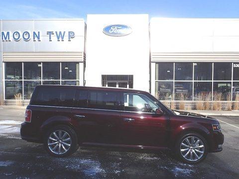 Burgundy Velvet 2019 Ford Flex Limited AWD