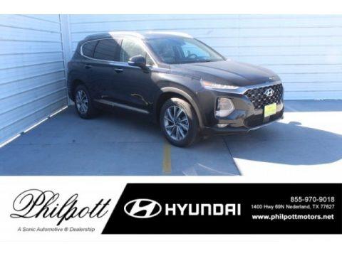 Twilight Black 2019 Hyundai Santa Fe Limited