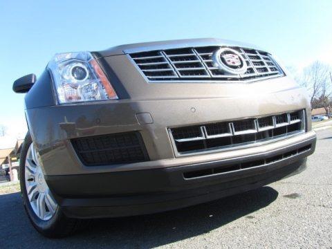 Terra Mocha Metallic 2014 Cadillac SRX Luxury