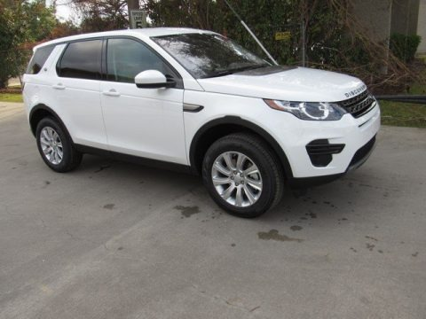 Fuji White 2019 Land Rover Discovery Sport SE