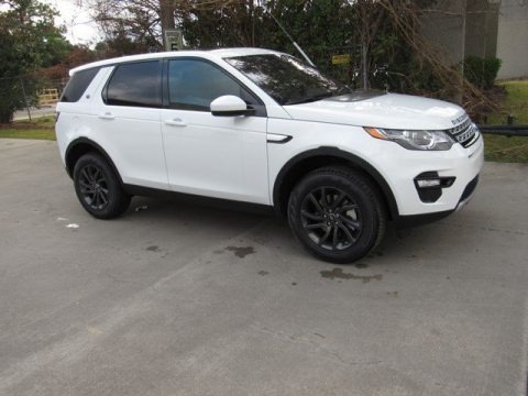 Fuji White 2019 Land Rover Discovery Sport HSE