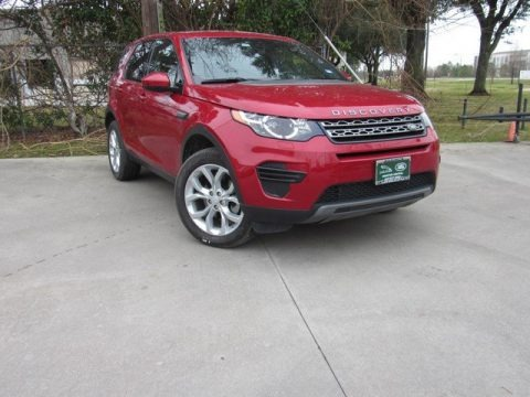 Firenze Red Metallic 2016 Land Rover Discovery Sport SE 4WD