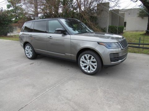 Corris Gray Metallic 2019 Land Rover Range Rover Supercharged