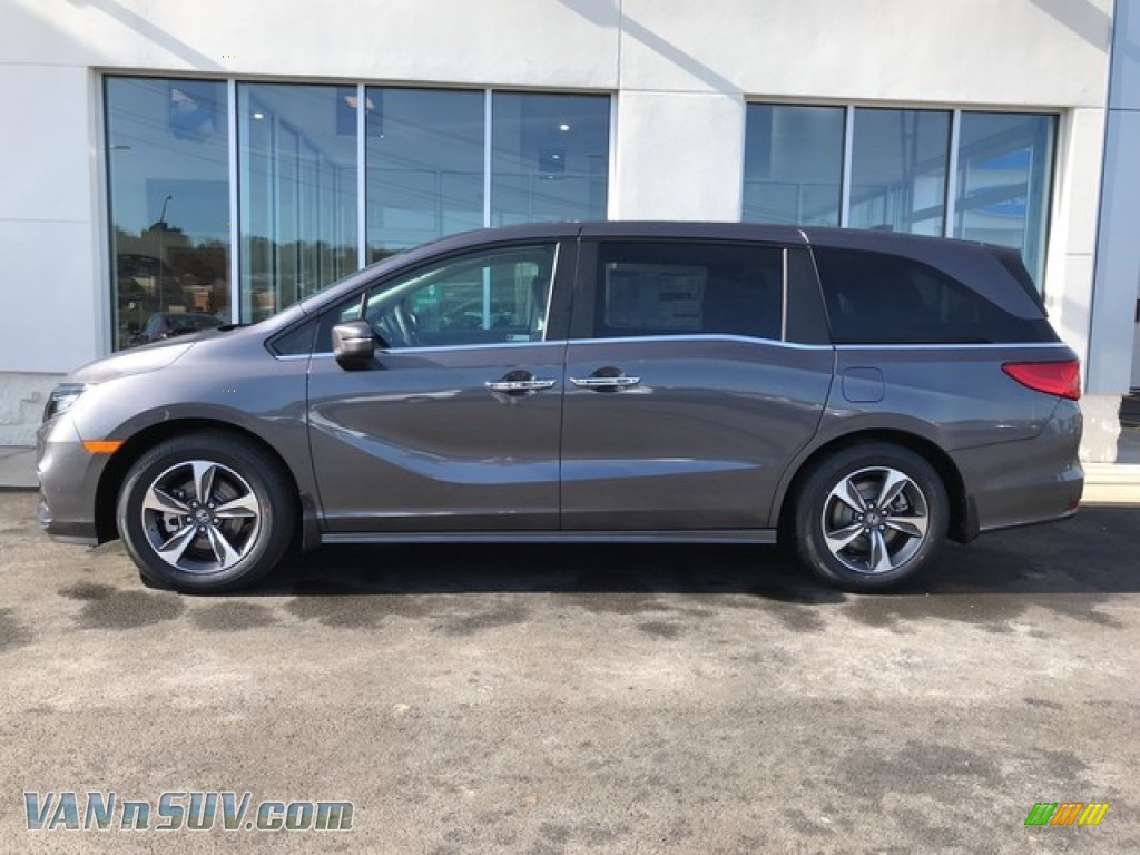 2019 Odyssey Touring - Modern Steel Metallic / Gray photo #2