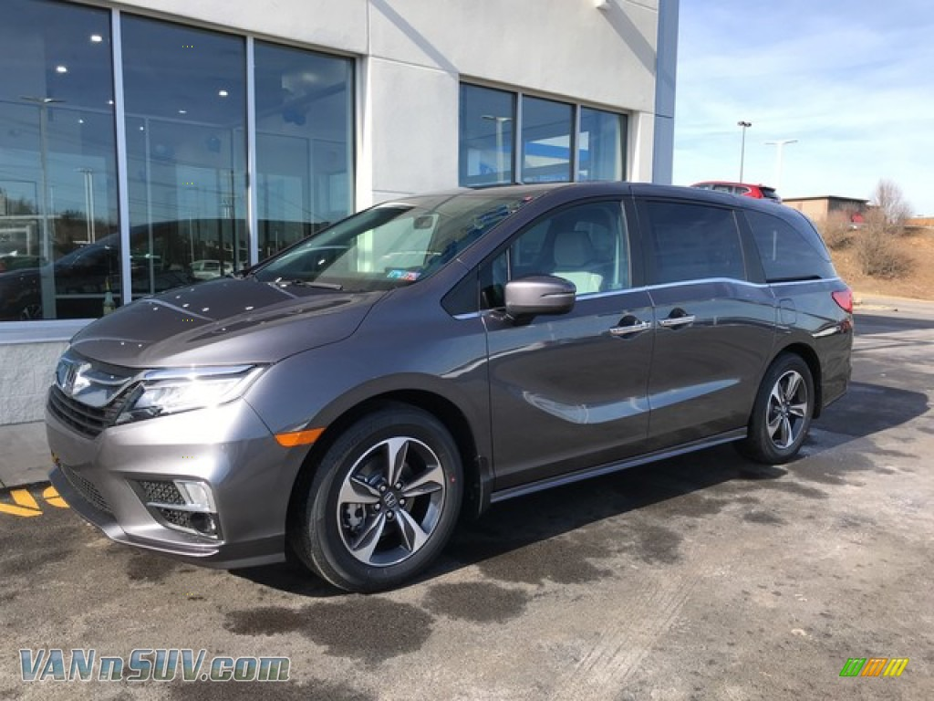 2019 Odyssey Touring - Modern Steel Metallic / Gray photo #3