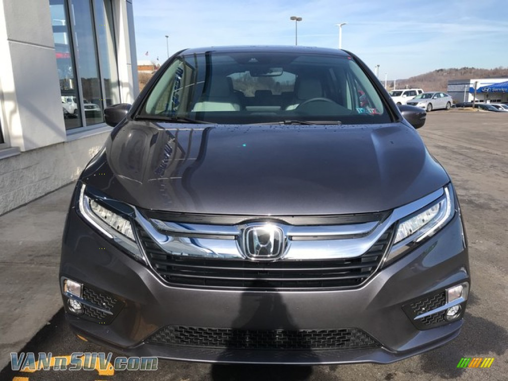 2019 Odyssey Touring - Modern Steel Metallic / Gray photo #4