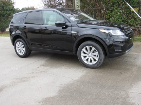 Narvik Black 2019 Land Rover Discovery Sport SE