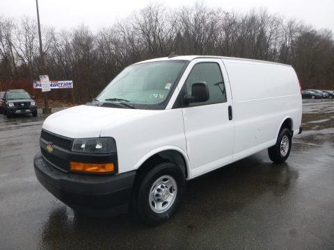 Summit White 2019 Chevrolet Express 2500 Cargo WT