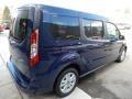 Ford Transit Connect XLT Passenger Wagon Dark Blue photo #2