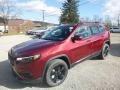 Jeep Cherokee Latitude Plus 4x4 Velvet Red Pearl photo #1