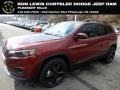 Jeep Cherokee Latitude Plus 4x4 Velvet Red Pearl photo #1