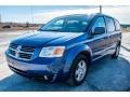 Dodge Grand Caravan SXT Deep Water Blue Pearl Coat photo #20
