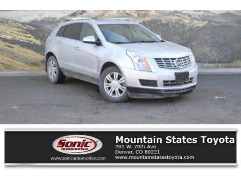 Radiant Silver Metallic 2014 Cadillac SRX Luxury AWD