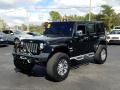 Jeep Wrangler Unlimited Sahara 4x4 Black photo #1