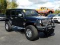 Jeep Wrangler Unlimited Sahara 4x4 Black photo #7