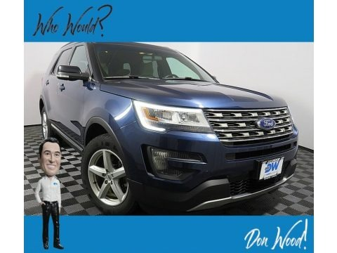 Blue Jeans Metallic 2016 Ford Explorer XLT 4WD