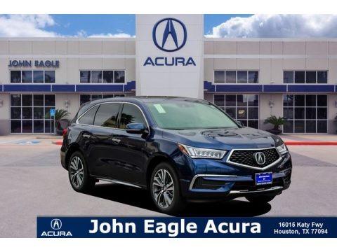 Fathom Blue Pearl 2019 Acura MDX