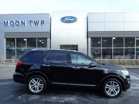 Shadow Black 2016 Ford Explorer Limited 4WD