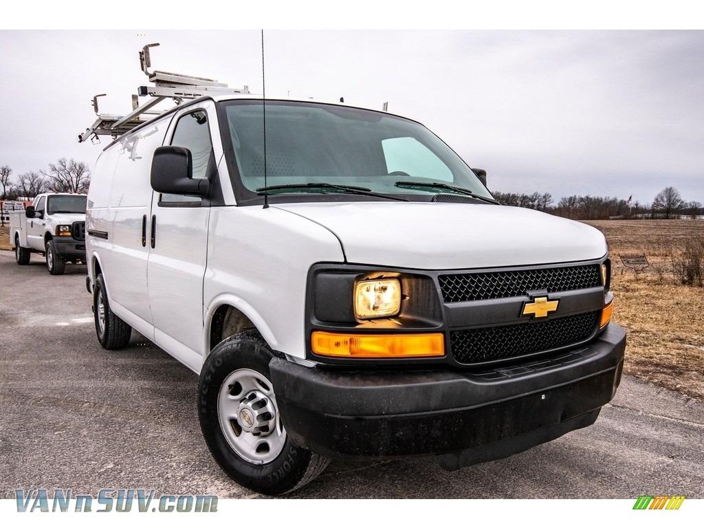 2013 Express 2500 Cargo Van - Summit White / Neutral photo #1