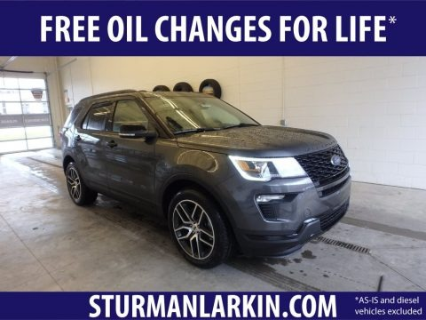 Magnetic 2019 Ford Explorer Sport 4WD