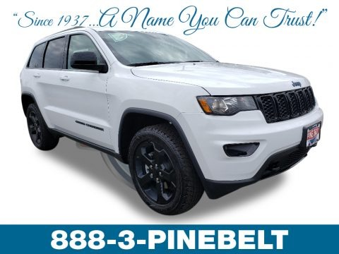 Bright White 2019 Jeep Grand Cherokee Laredo 4x4