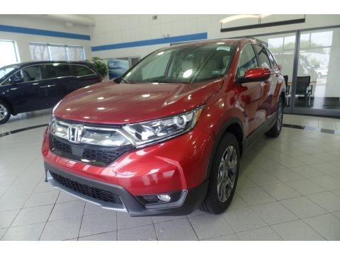 Molten Lava Pearl 2019 Honda CR-V EX-L