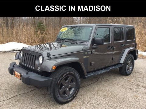 Granite Crystal Metallic 2016 Jeep Wrangler Unlimited Sport 4x4