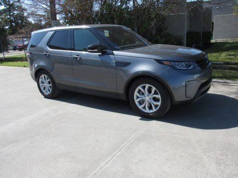 Corris Gray Metallic 2019 Land Rover Discovery SE