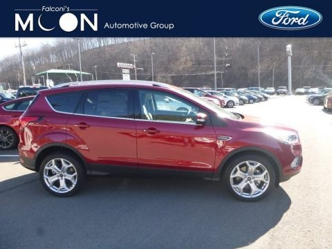 Ruby Red 2019 Ford Escape Titanium 4WD