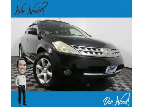 Super Black 2007 Nissan Murano SE AWD